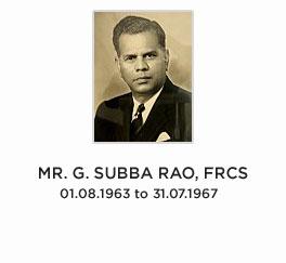 MR.-G.-SUBBA-RAO,-FRCS